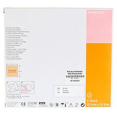 ALLEVYN Gentle Border 12,5x12,5 cm Schaumverb. 5 Stück - Rückseite