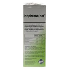 NEPHROSELECT 750 Milliliter - Rückseite
