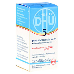 BIOCHEMIE DHU 5 Kalium phosphoricum D 6 Globuli 10 Gramm N1