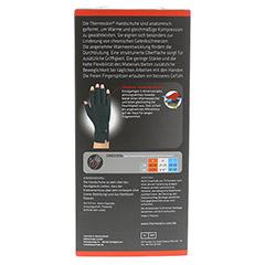 THERMOSKIN Wärmebandage Handschuhe M 2 Stück - Rückseite