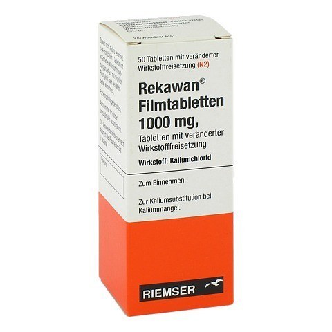 REKAWAN Filmtabletten 1000 mg 50 St�ck N2