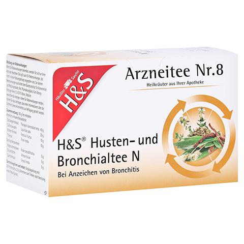 H&S Husten-und Bronchialtee N 20 Stück