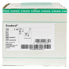 EXADORAL B.Braun orale Spritze 1 ml 100 Stück - Rechte Seite