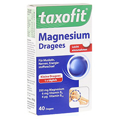 TAXOFIT Magnesium 350 Dragees 40 St�ck