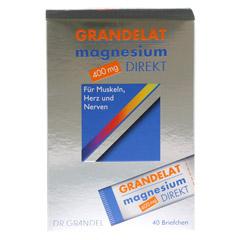 MAGNESIUM DIREKT 400 mg Grandelat Pulver 40 Stück - Vorderseite