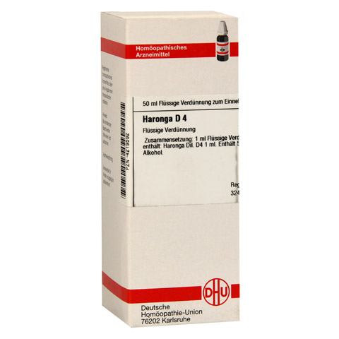 HARONGA D 4 Dilution 50 Milliliter N1