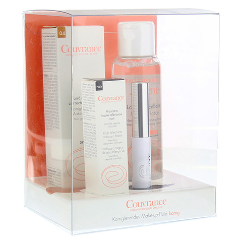 AVENE Couvrance Make-up Flu.honig+grat.Masc+Miz.R 1 Packung