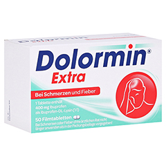Dolormin extra 50 St�ck N3