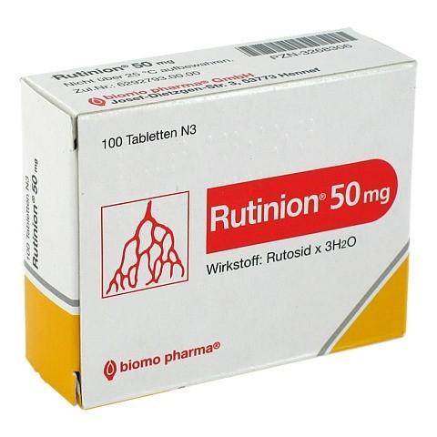 Rutinion 50mg 100 St�ck N3