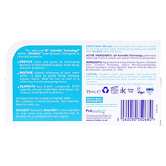 ULTRADEX/RETARDEX Zahnpasta antibakteriell 75 Milliliter - R�ckseite