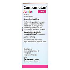 CONTRAMUTAN Junior Sirup 150 Milliliter N1 - Linke Seite