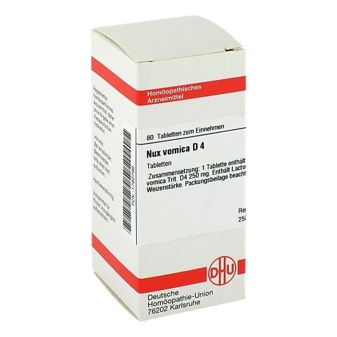 NUX VOMICA D 4 Tabletten 80 St�ck N1