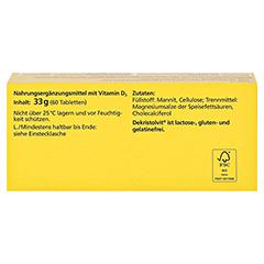 DEKRISTOLVIT D3 5.600 I.E. Tabletten 60 Stück - Oberseite