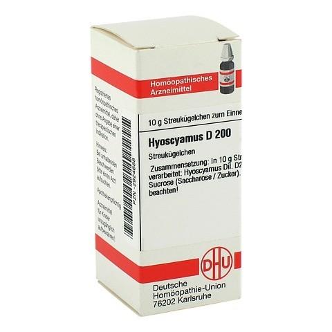 HYOSCYAMUS D 200 Globuli 10 Gramm N1