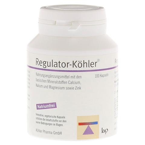 REGULATOR-Köhler magensaftresistente Kapseln 100 Stück