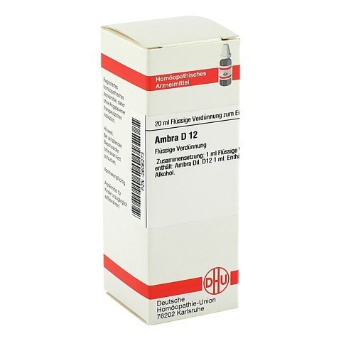 AMBRA D 12 Dilution 20 Milliliter N1