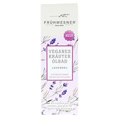 FRÜHMESNER veganes Kräuter Ölbad Lavendel 100 Milliliter - Vorderseite
