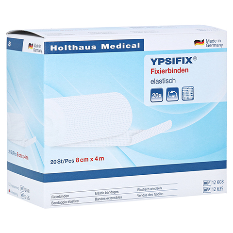 FIXIERBINDE Ypsifix elastisch 8 cm x 4 m 20 Stück