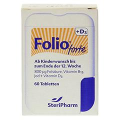 FOLIO forte+D3 Filmtabletten 60 Stück - Vorderseite