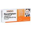 Naratriptan-ratiopharm bei Migräne 2,5mg 2 Stück N1