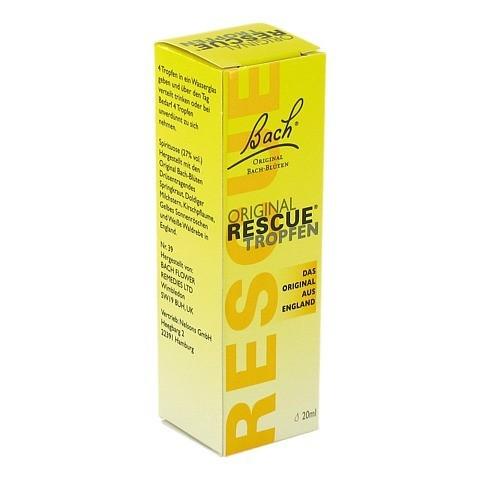 BACH ORIGINAL Rescue Tropfen 20 Milliliter