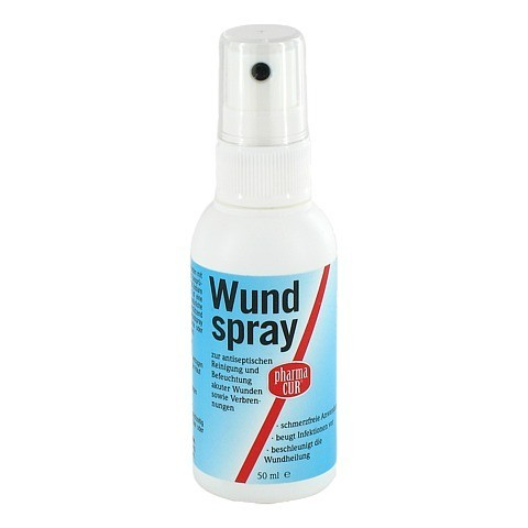 PHARMACUR Wundspray 50 Milliliter