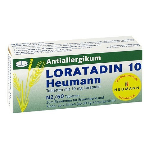 Loratadin 10 Heumann 50 Stück N2