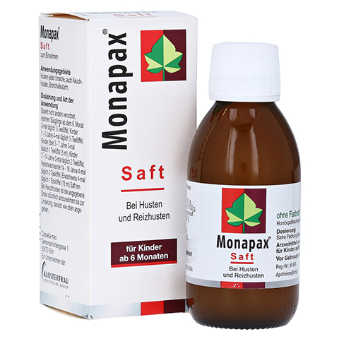 MONAPAX Saft 150 Milliliter
