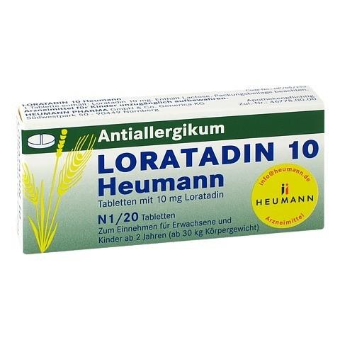 Loratadin 10 Heumann 20 Stück N1