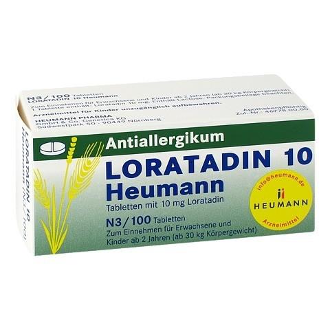 Loratadin 10 Heumann 100 Stück N3