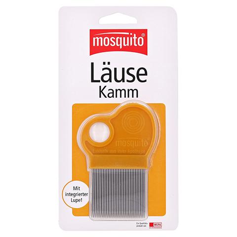 MOSQUITO Nissenkamm Metall mit Lupe 1 Stück