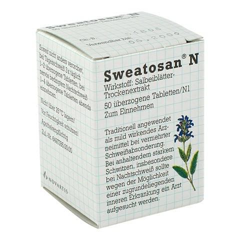 SWEATOSAN N überzogene Tabletten 50 Stück