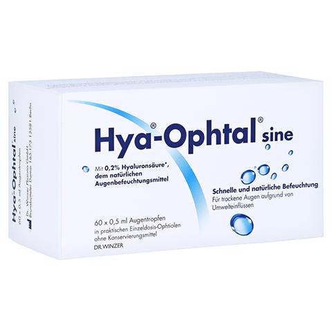 HYA OPHTAL sine Augentropfen 60x0.5 Milliliter