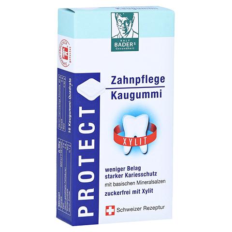 BADERS Protect Gum Zahnpflege Kaugummi 16 Stück