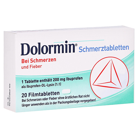 Dolormin Schmerztabletten 20 Stück