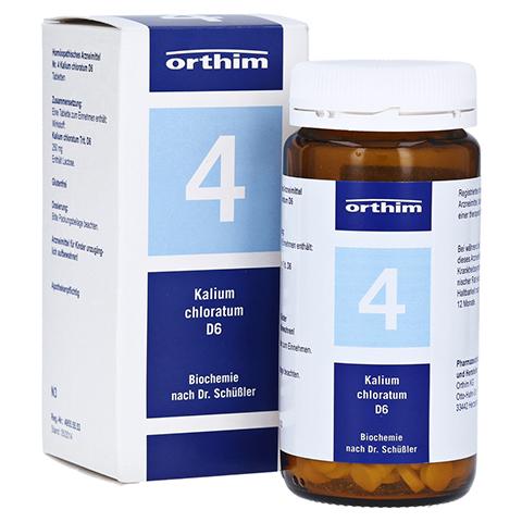 BIOCHEMIE Orthim 4 Kalium chloratum D 6 Tabletten 400 Stück N3