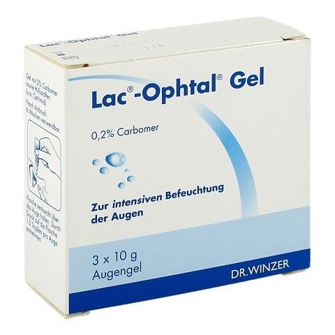LAC OPHTAL Gel 3x10 Gramm