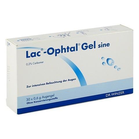 LAC OPHTAL Gel sine 30x0.6 Milliliter