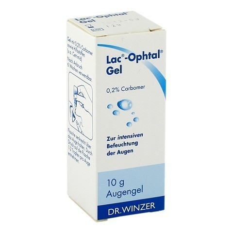 LAC OPHTAL Gel 10 Gramm