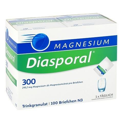 MAGNESIUM DIASPORAL 300 Granulat 100 Stück N3