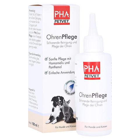 PHA OhrenPflege Tropfen f.Hunde 100 Milliliter