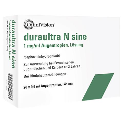 Duraultra N sine 1mg/ml Augentropfen 20x0.6 Milliliter
