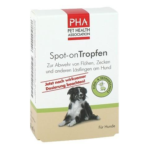 PHA Spot-on Tropfen f.Hunde 4x2 Milliliter