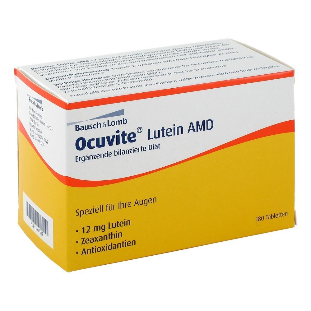 Erfahrungen Zu Ocuvite Lutein Amd Tabletten 180 Stuck Medpex
