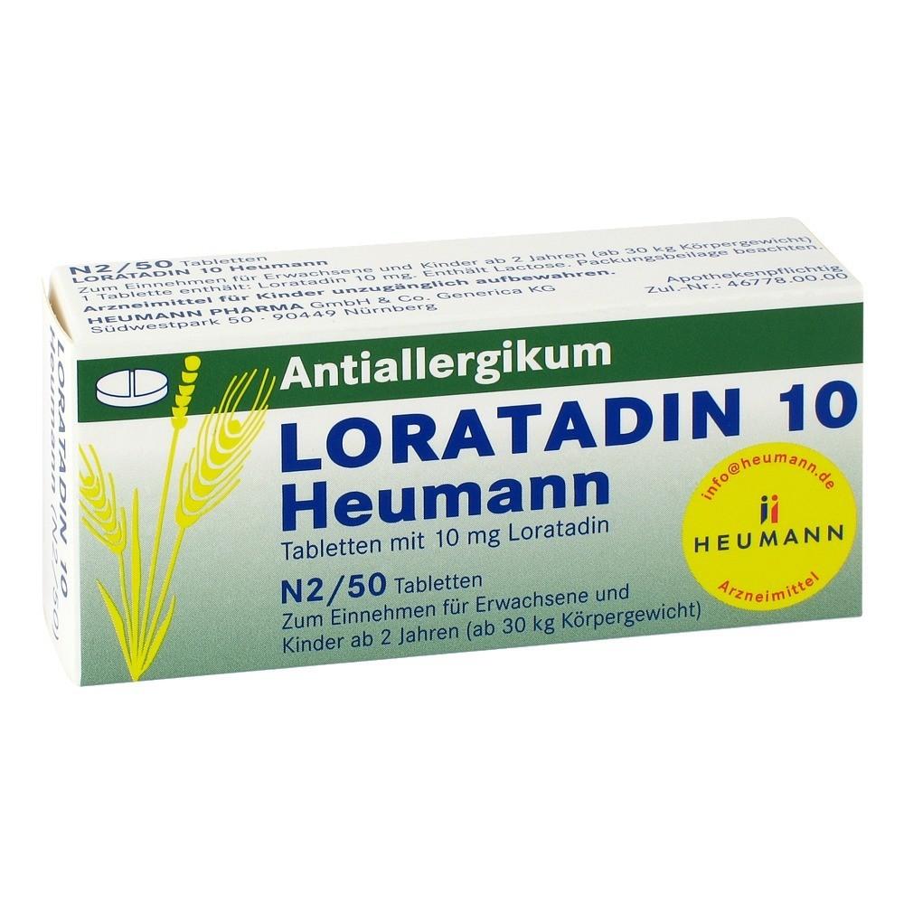 loratadin-10-heumann-tabletten-50-stuck, 9.99 EUR @ medpex-de
