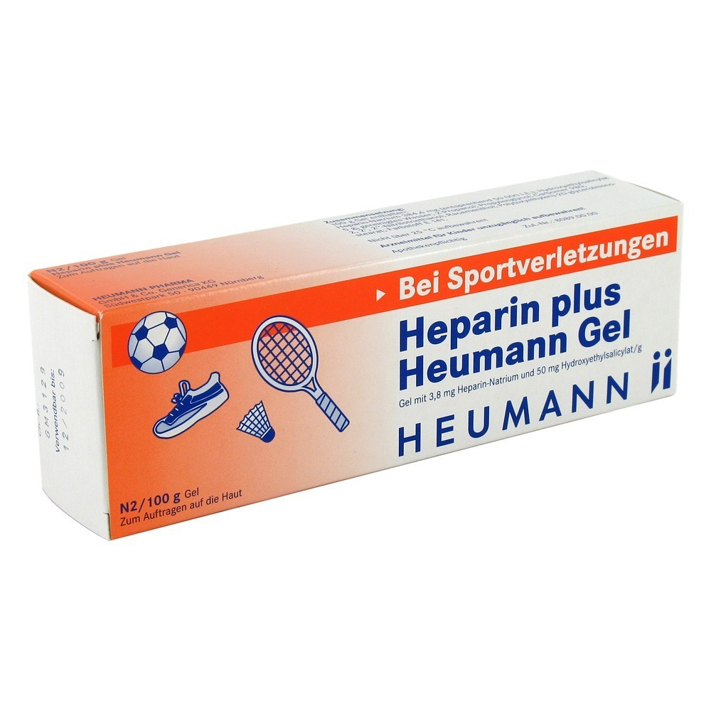 heparin plus heumann gel 100 gramm n2 online bestellen medpex versandapotheke. Black Bedroom Furniture Sets. Home Design Ideas
