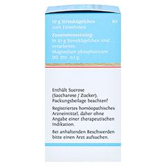BIOCHEMIE DHU 7 Magnesium phosphoricum D 12 Glob. 10 Gramm N1 - Linke Seite