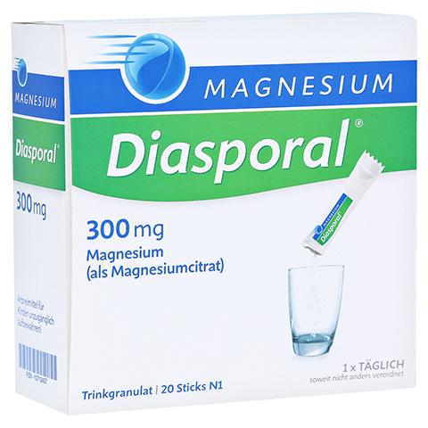 MAGNESIUM DIASPORAL 300 mg Granulat 20 Stück N1
