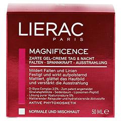 LIERAC Magnificence zarte Gel-Creme Tag & Nacht 50 Milliliter - Vorderseite