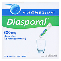 MAGNESIUM DIASPORAL 300 mg Granulat 20 Stück N1 - Vorderseite